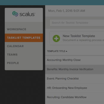 Templated Schedules