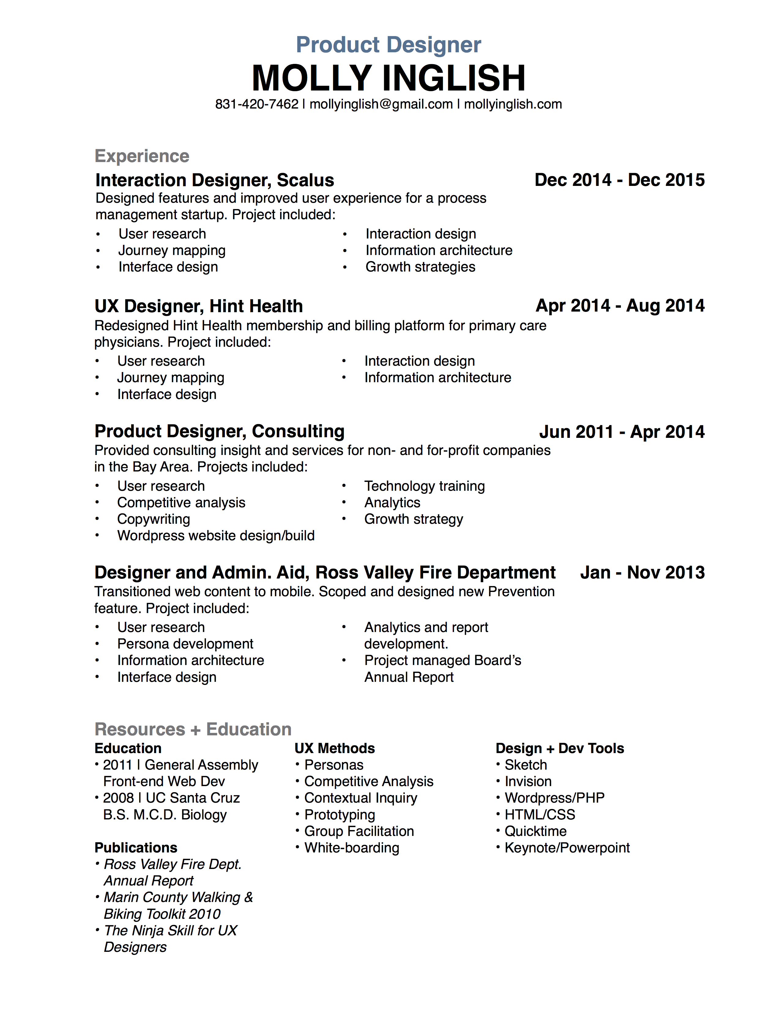 mollyinglishresume2016